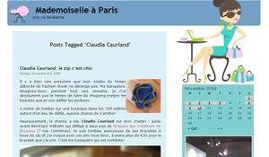 Mademoiselle à Paris