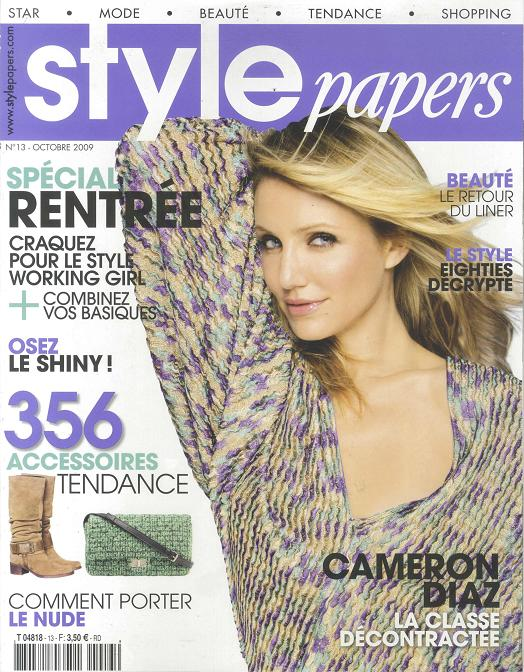 STYLE_PAPERS_Octobre_2009_Cover