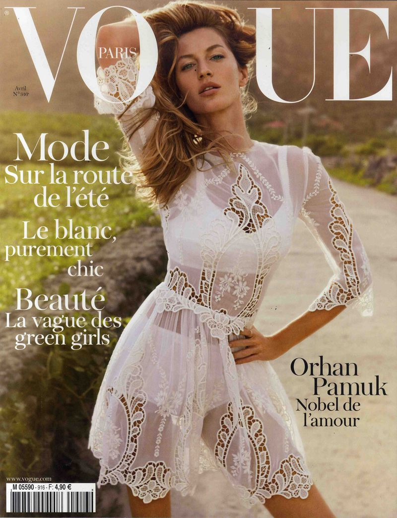 VOGUE Avril 2011 Cover